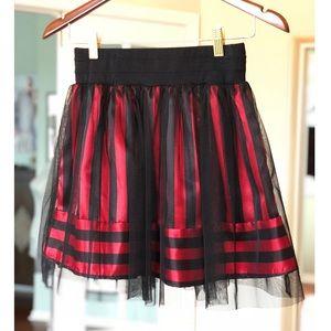 Funky high waisted skirt!